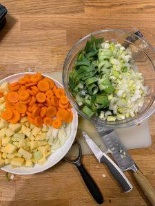 poireau carottes rutabaga