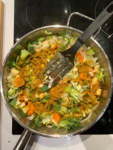 légumes sauteuse ras el hanout